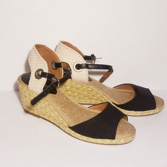 fbe69d4b9 Lucky Brand Shoes | Kyndra Espadrille Wedge Sandals Euc | Poshmark